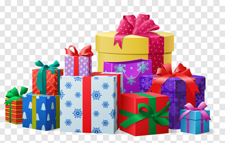 giving and receiving gifts
